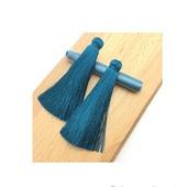 Кисти для создания серег цвета морской волны