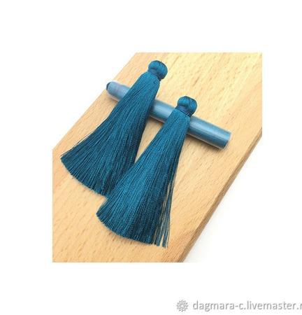 Кисти для создания серег цвета морской волны ручной работы на заказ