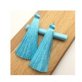 Кисти для создания серег бирюзово-голубые