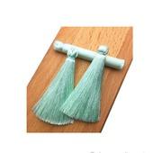 Кисти для создания серег мятные