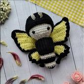Бабочка-гусеница для детей
