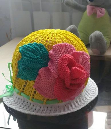 Летняя панамочка ручной работы на заказ