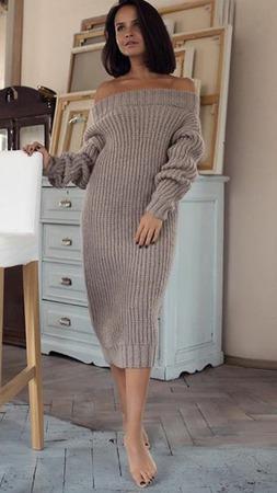 Вязаное платье ручной работы на заказ