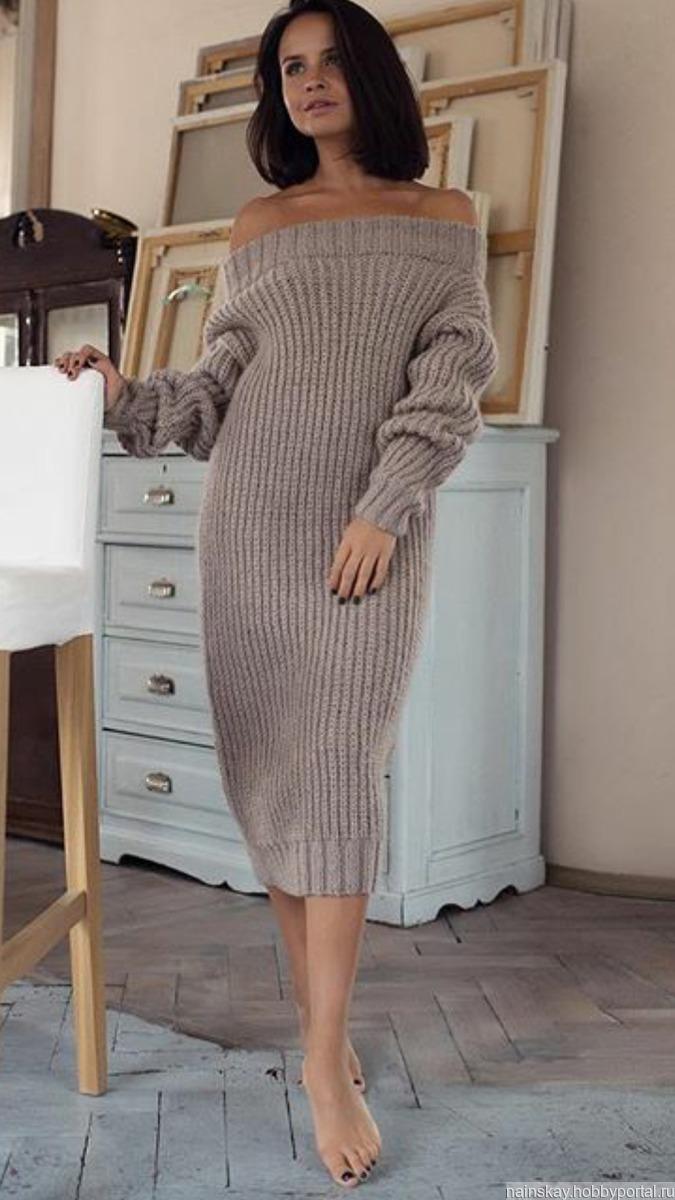 вязаное платье купить в интернет магазине Hobbyportalru с доставкой