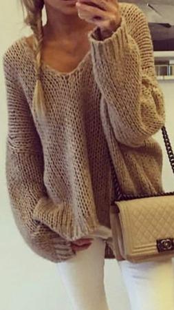 Вязаный свитер ручной работы на заказ