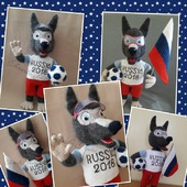 МК Волчок Забивака, талисман чемпионата мира по футболу 2018 г.