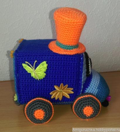 Игрушка Машинка - кубарик ручной работы на заказ