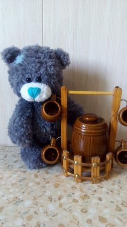 Вязанный Мишка Тедди ручной работы на заказ