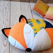 Подушка-игрушка Лисичка Рыжая Соня