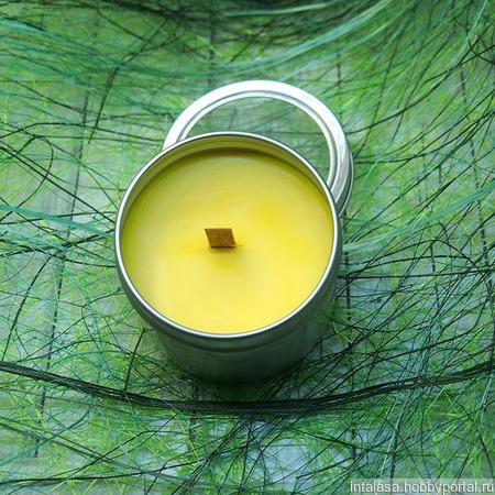 Массажная свеча для ухода за ногтями ручной работы на заказ