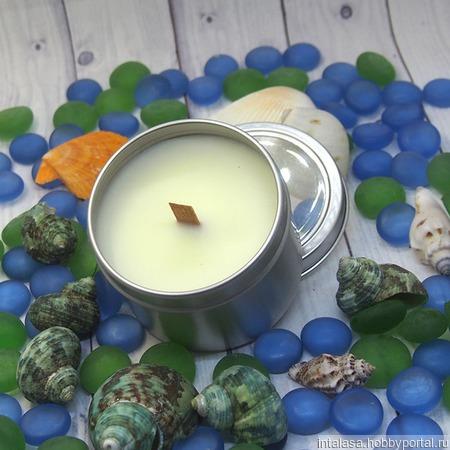 Массажная свеча для ухода за телом ручной работы на заказ