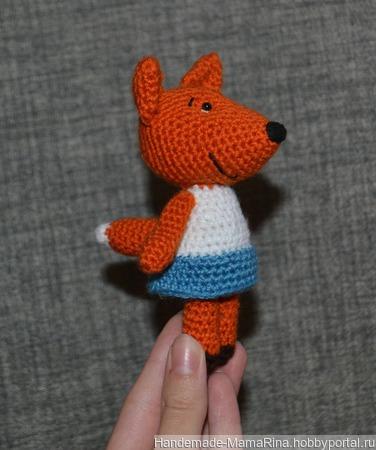 """Игрушка лисичка из """"Мимимишек"""" ручной работы на заказ"""