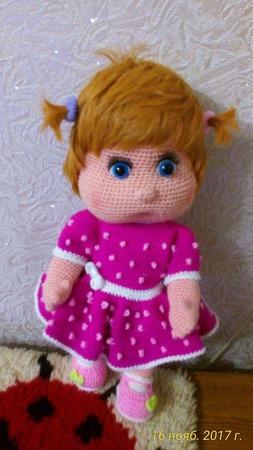 Кукла Варенька ручной работы на заказ