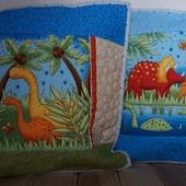 Подушки-динозаврики