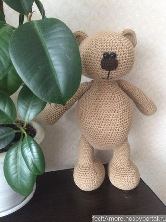 Медведь Потап ручной работы на заказ