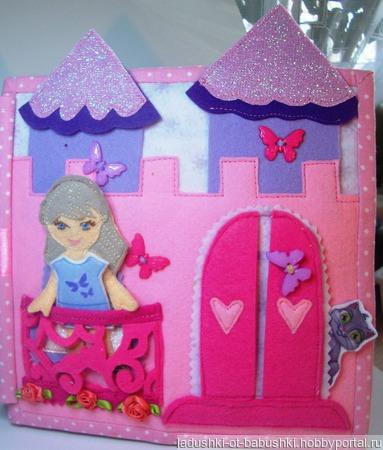 """Книжка """"Кукольный домик"""" ручной работы на заказ"""