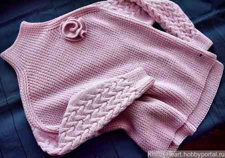 Стильный вязаный свитер ручной работы ручной работы на заказ