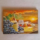 "Подставка под горячее ""Вино и виноград"""