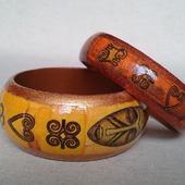 "Набор браслетов ""Африканский"""