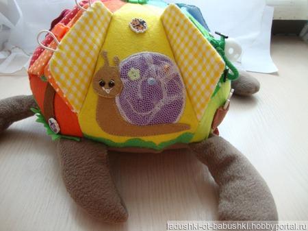 """Развивающая игрушка """"Черепаха"""" ручной работы на заказ"""