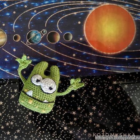 Кукла-инопланетянин ручной работы на заказ