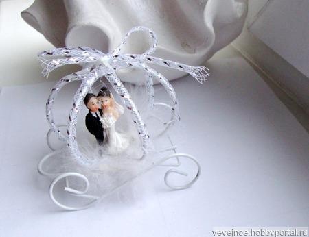 Карета свадебная ручной работы на заказ