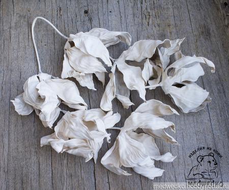 """Подвеска-украшение для сумки """"Нежность цветов"""" ручной работы на заказ"""