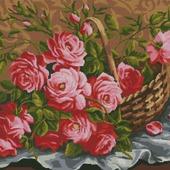 """Схема для вышивания """"Садовые розы"""""""