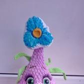 Вязаная луковичка цветок