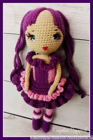 Кукла Вайолет ручной работы на заказ