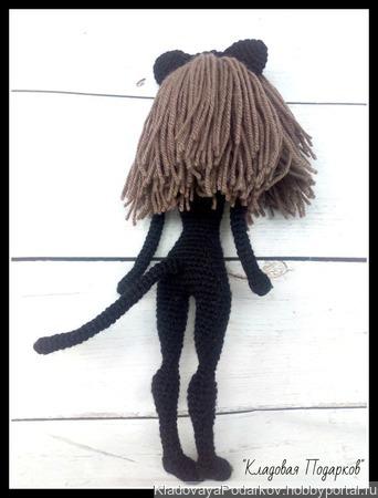 Женщина - кошка ручной работы на заказ