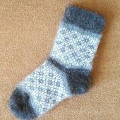 Теплые носки с рисунком