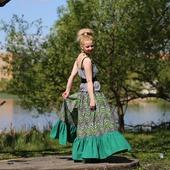 фото: юбка с орнаментом