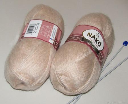 Пряжа Nako Angora Luks ручной работы на заказ