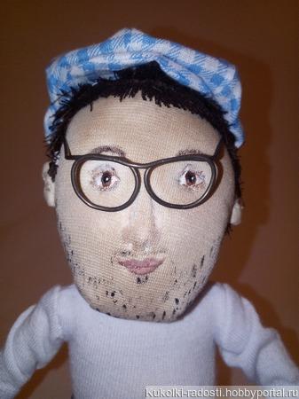 Портретная кукла по фото ручной работы на заказ