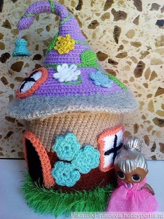 """Шкатулка """"Кукольный домик"""" ручной работы на заказ"""