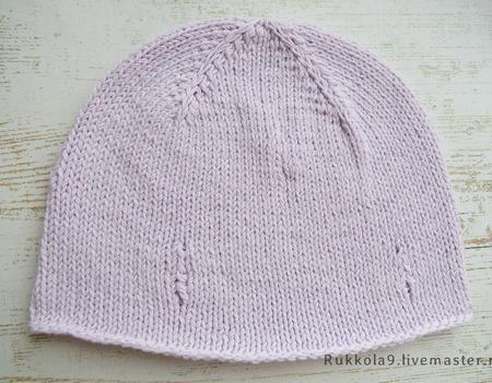 Детские шапочки из хлопка ручной работы на заказ