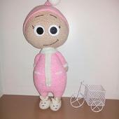 Вязаная игрушка Бонни