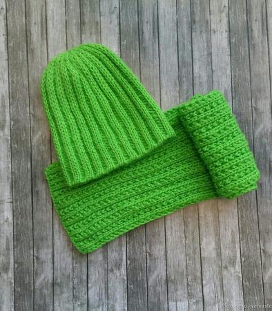 Вязаный комплект для малыша; пальто, шапка, шарф ручной работы на заказ