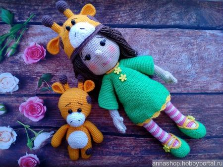 Куколка Зои со своим другом Джеральдом ручной работы на заказ