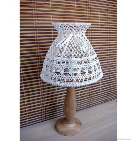 Абажур для настольной лампы ручной работы ручной работы на заказ