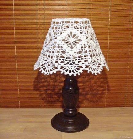 Абажур ручной работы для маленькой настольной лампы или ночника ручной работы на заказ