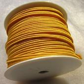 Сутаж греческий, 4 мм, оранжевый