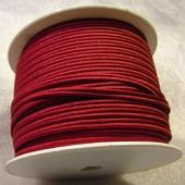 Сутаж греческий, 4 мм, бордовый