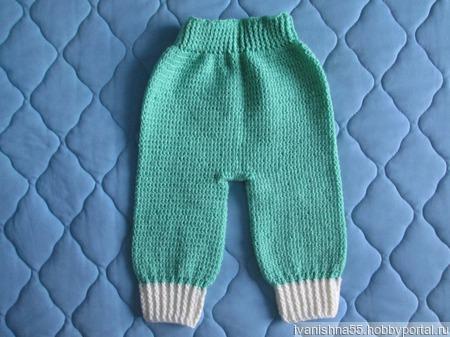 Комплект: кофточка и штанишки. ручной работы на заказ