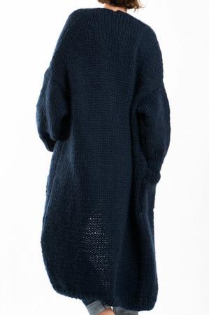 Модный кардиган ручной работы ручной работы на заказ