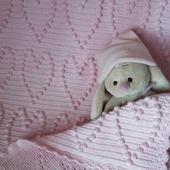 Розовый плед для принцессы