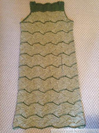 Платье из хлопка ручной работы на заказ