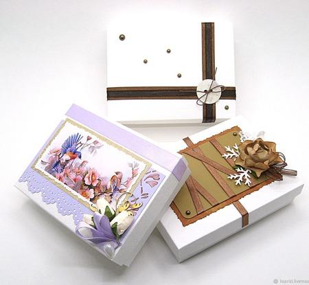 Подарочные коробочки ручной работы на заказ