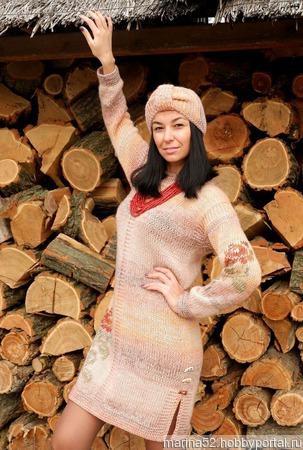 """Платье""""Осень"""" ручной работы на заказ"""